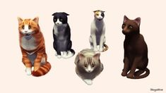 Cat II Poses by Sonia Newak - Sims 3 Downloads CC Caboodle