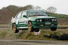 BMW M3 rally car