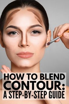 Make up Blending How to Blend Contour Correctly for a Sculpted Face Makeup Blend Blending CONTOUR correctly Face Makeup Techniques Sculpted Best Contouring Products, Contouring And Highlighting, Best Makeup Products, How To Blend Contouring, Makeup Contouring, Contour Brush, Contour Eyes, Beauty Products, Cream Contour
