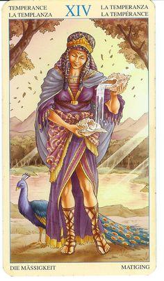 XIV Temperance- tarot card