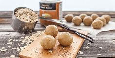 Quick and easy, these vegan protein bites are perfect when the afternoon hunger pangs strike.