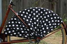 Great Finds Under $100 - Keep your dresses, skirts, and jackets from getting stuck in your wheel. These skirt guards are available in assorted patterns and colors.