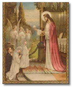 O Segredo do Rosário: Jesus no Santíssimo Sacramento faz as delícias das almas desprendidas
