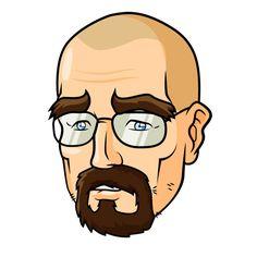 Heisenberg // Walter White // Breaking Bad on Behance