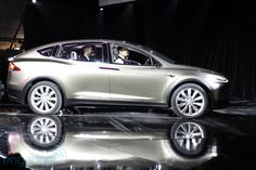 The Tesla Model X looks really cool, but sacrifices crossover functionality to design