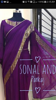 Building a Jewelry Wardrobe: A Woman's Guide to Seven Jewelry Must-Haves Lace Saree, Saree Gown, Saree Blouse Neck Designs, Fancy Blouse Designs, Designer Sarees Wedding, Saree Wedding, Beautiful Saree, Beautiful Dresses, Stylish Blouse Design