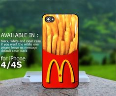 AJ 291 McDonalds French Fries - iPhone 4/4s Case | BestCover - Accessories on ArtFire