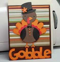 Pink Lady's Paradise: Create A Critter Thanksgiving