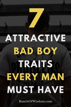 Women love bad boys for their competent and unique qualities that make them stand out from the crowd. Here are seven of these attractive bad boy traits that you learn for a better dating life: Bad Men Quotes, Best Hobbies For Men, Alpha Male Traits, Guys Grooming, Relationship Mistakes, Relationships, Affair Recovery, Men Style Tips, Style Men