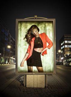 Guerrilla Artist Remixes Adverts with Acid