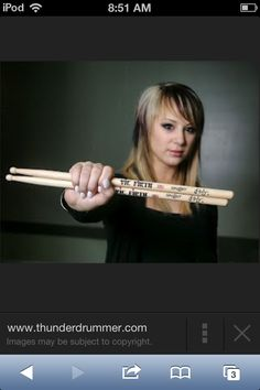 Jen Ledger best girl drummer there is Girl Drummer, Skillet Band, Jen Ledger, Cool Girl, Music, Musica, Musik, Muziek, Music Activities