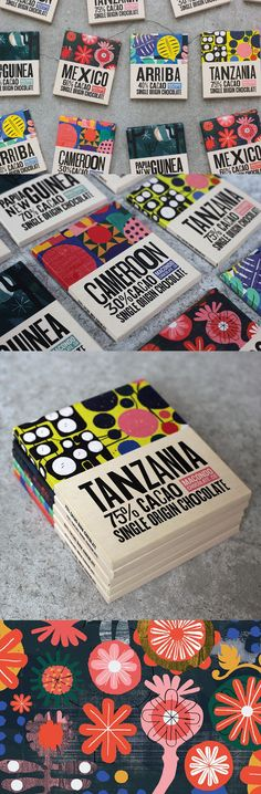 Macondo Chocolate Co by A-Side Studio #brandingideas
