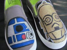 b292760623ea4 57 Best Star Wars Hand Painted Shoe Ideas images in 2016 | Painted ...