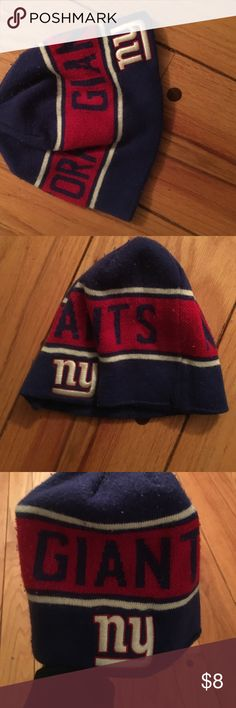 My ex bought it for me I m not a Giants fan so I actually have never worn  this. Smoke-free pet free and clean this wool blend New York Giants beanie  is ... 7792cacd71f