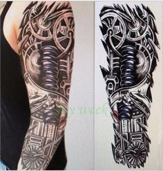 Tattoo - Waterproof Temporary Tattoo Full Arm