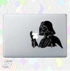 Darth Vader Holding Apple