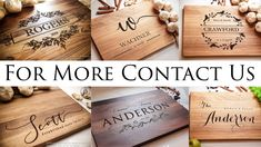 Custom Cutting Boards, Engraved Cutting Board, Personalized Cutting Board, Custom Wedding Gifts, Personalized Wedding Gifts, Wooden Wedding Cake Stand, Gifts For Family, Gifts For Mom, Real Estate Gifts