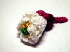 free pattern - Stachyurus Praecox Flower - 365 Flowers Project
