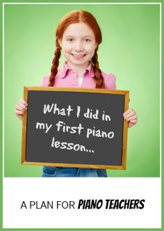 How to make a first piano lesson AMAZING! | www.teachpianotoday.com