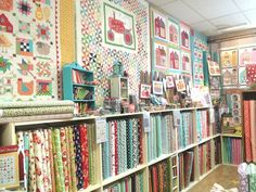 Summer time and a little Shop-Hopping - Diary of a Quilter - a quilt blog