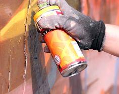 Voss Bottle, Water Bottle, Graffiti Wall, Magazine, Blog, Water Bottles, Magazines, Blogging, Warehouse