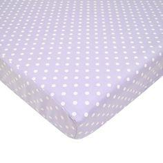 American Baby Company 100% Cotton Percale Fitted Portable/Mini Crib Sheet, Lavender Dots American Baby Company http://www.amazon.com/dp/B000O7WJ8U/ref=cm_sw_r_pi_dp_JwYiub04HJ8Q6