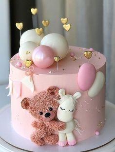 Pin by netta savir on Cake ideas   Baby birthday cakes, Baby girl birthday cake, Baby cake Baby Girl Birthday Cake, Beautiful Birthday Cakes, First Birthday Cakes, Beautiful Cakes, Cake Baby, Birthday Ideas, Pretty Cakes, Cute Cakes, Gateau Theme Mickey