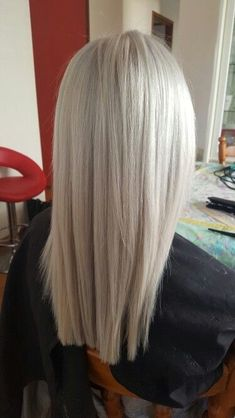 I want hair to go this grey.