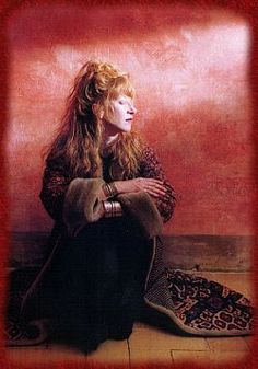 Loreena McKennitt - her beautiful crooning and matching of poetry with music thrills my soul
