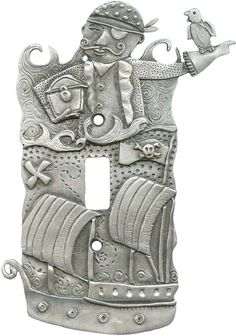 PIRATE Switch Plates, Outlet Covers & Rocker Switchplates