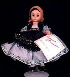1986 Madame Alexander Rumania, International Series Box # 538 Value and Details