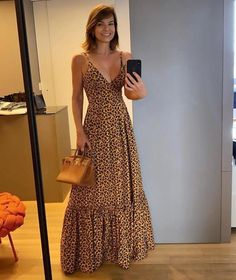 Maxi Outfits, Summer Fashion Outfits, Modest Fashion, Chic Outfits, Fashion Dresses, Stylish Dresses, Casual Dresses, African Print Fashion, I Dress