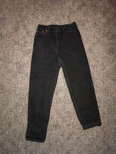 Vintage Levis 512 High Waist Jeans Slim Tapered 30