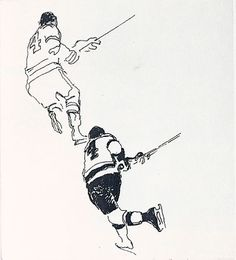 LeRoy Neiman...STUDY OF 4 Sports Images, Sports Art, Leroy Neiman, Sports Figures, Art History, Modern Art, Original Artwork, Study, Fine Art