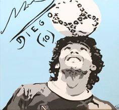 Diego Armando Maradona Diego Armando, Action Poses, Messi, Dragon Ball, Grande, Pop Art, Action Figures, Legends, Magick