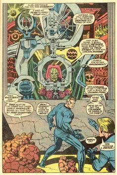 Fantastic Four by Jack Kirby & Joe Sinnott Comic Book Pages, Comic Page, Comic Book Artists, Comic Book Covers, Comic Artist, Comic Books Art, Frank Frazetta, Frank Miller, Bob Ross