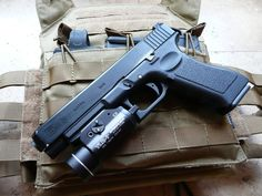 Glock 34 and Streamlight TLR-1