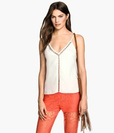 Woven Camisole Top $34.95