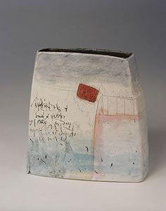 Ceramics by Craig Underhill at Studiopottery.co.uk - 2009 Venice walls Height 24cm.