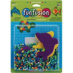 Perler Fun Fusion Fuse Bead Activity Kit, Water Whimsey