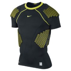Nike Pro Combat Hyperstrong Compression Four-Pad Men's Football Shirt