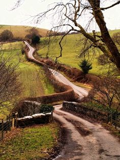 Winding Road - Wales
