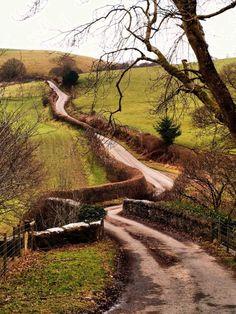 Winding Road - Wales
