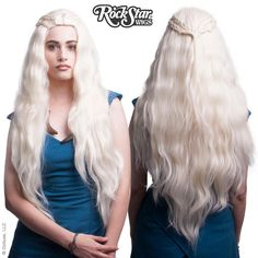Cosplay Wigs USA™ Inspired By Character Game of Thrones - Daenerys Targaryen/Khaleesi -00240