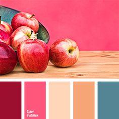 beige-orange, blue-green, burgundy, carrot color, color of teals, color selection for house, color solution, crimson, deep blue, deep blue and burgundy, orange and deep blue, pink and deep blue, shades of pink, warm peach, wood color.