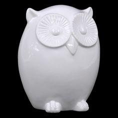 Urban Trends Ceramic Owl - 6.75H in. - 73062