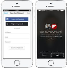 Facebook announces 'Anonymous Login' and 'Audience Network' The social network revives its developer conference to help app makers boost their bottom lines and give members more control over their information. log in anonymously facebook button http://www.cnet.com/news/facebook-announces-anonymous-login/
