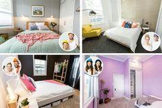 VILLA WARS 2015 guest bedroom The Block Nz, Toddler Bed, Villa, Bedroom, Furniture, Home Decor, Child Bed, Decoration Home, Room Decor