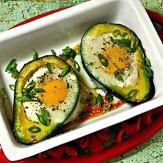 Paleo Baked Eggs in Avocado - Allrecipes.com
