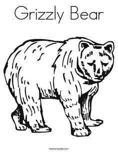 B is for Bear Worksheet from Bear